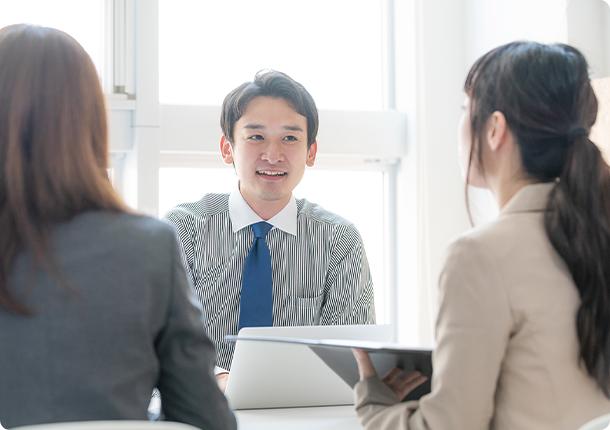 自分に合った企業や職場でスキルアップができます。